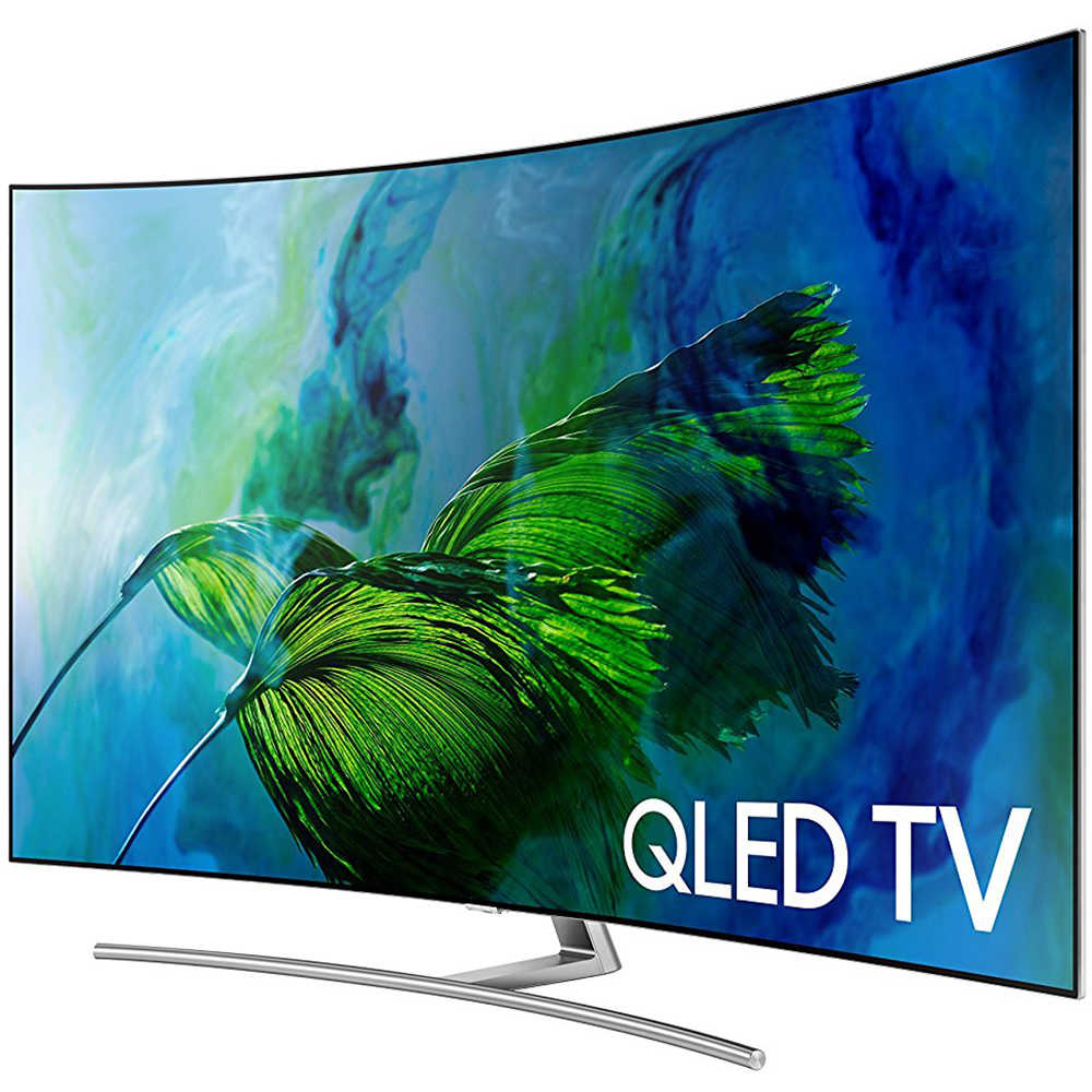 Refurbished Samsung 65' Class 4K (2160P) Smart QLED TV (QN65Q8C) + 1 Year Extended Warranty