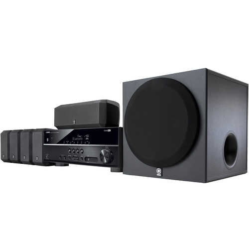 Yamaha 5.1-Channel 600 Watt Bluetooth 3D Surround Sound Home Theater System
